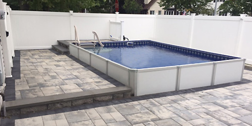 Pool Installed in Staten Island
