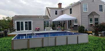 Pool Installed in Connecticut